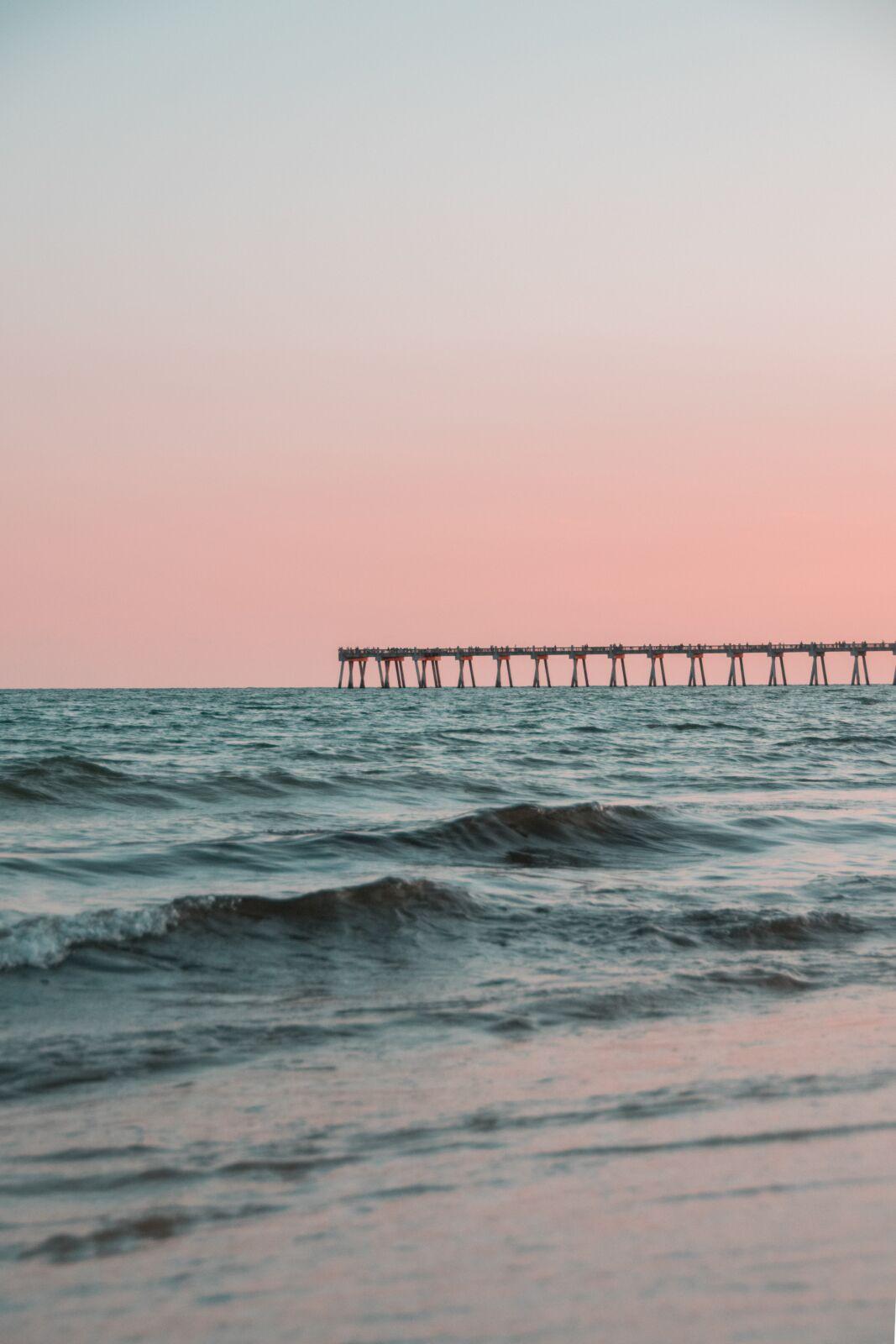 pier across the water