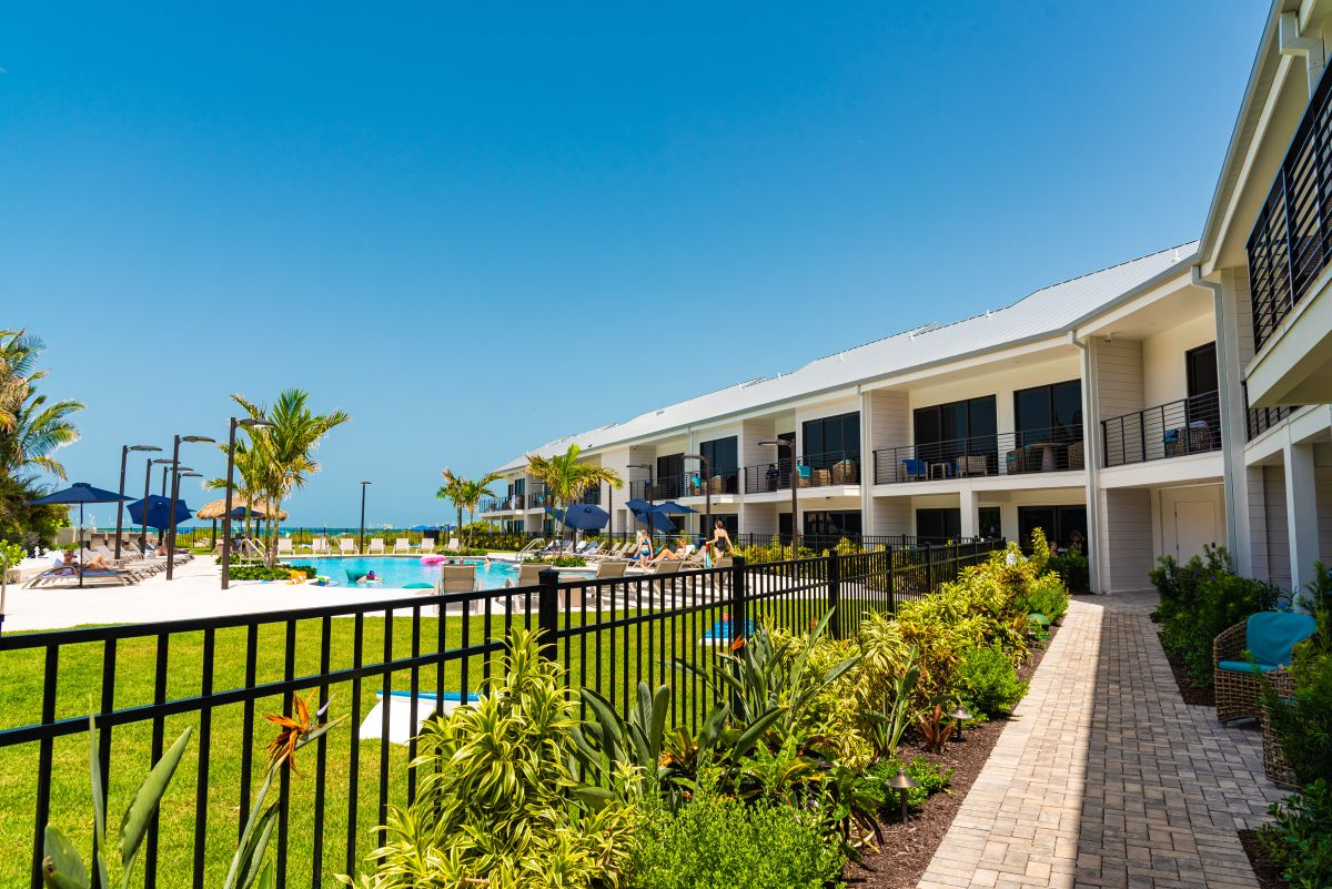 view of anna maria island beach resort