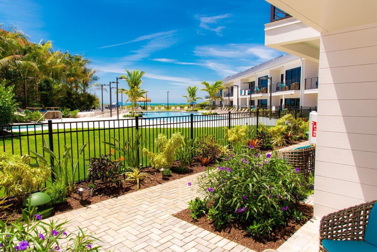 view of anna maria beach resort
