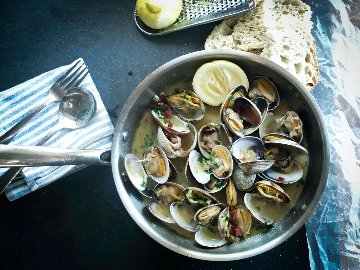 clams from anna maria island restaurant